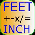 Feet Inch Calculator Free icon