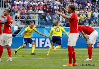 Après l'Italie et l'Allemagne, la Suède élimine la Suisse