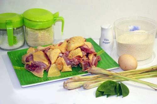 Những nguyên liệu cần có để làm món ăn gà rang muối chuẩn