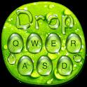 Green Water Drop Keyboard icon