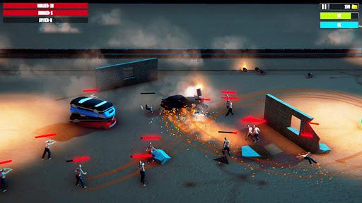 Code Triche crazy driver crash zombie crusher apocalypse jeu APK MOD screenshots 4
