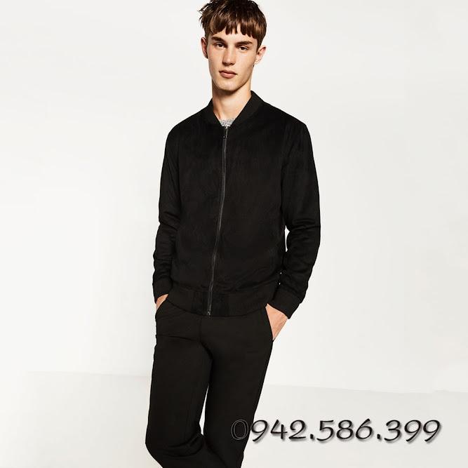 Áo khoác xuất khẩu áo khoác zara da lộn