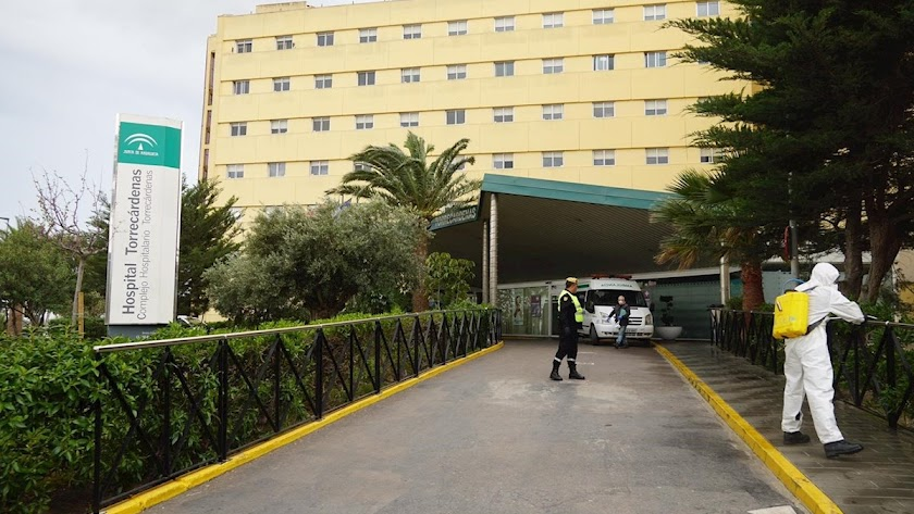 Ninguna nueva hospitalización este martes en Almería.