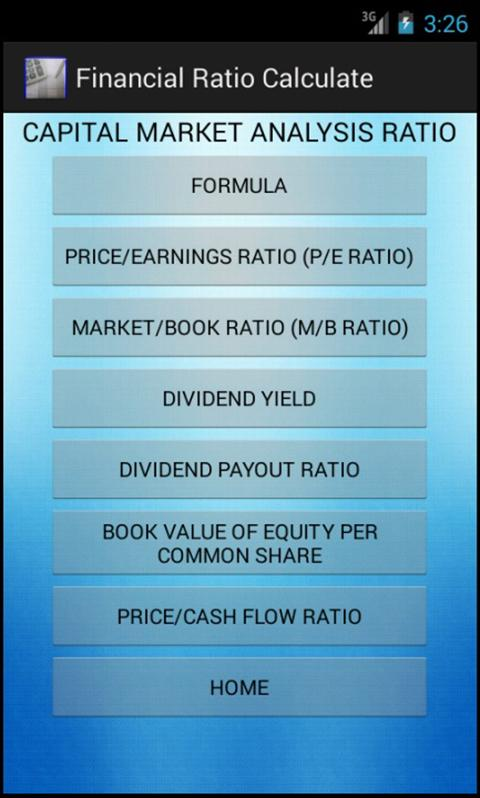 financial ratio calculations Calculate your businesses key financial ratios - like gross margin return on assets - with this easy-to-use calculator.