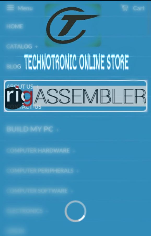 TECHNOTRONIC ONLINE SHOPPING- screenshot