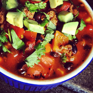 Beef Chili with Black Beans