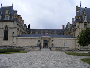Photo: Here, the main entrance to the château, and to the National Museum of the Renaissance, which opened here in 1977.