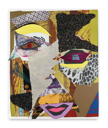 Mickalene Thomas untitled artwork