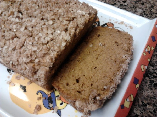 Pumpkin Bread W/streusel Topping Recipe