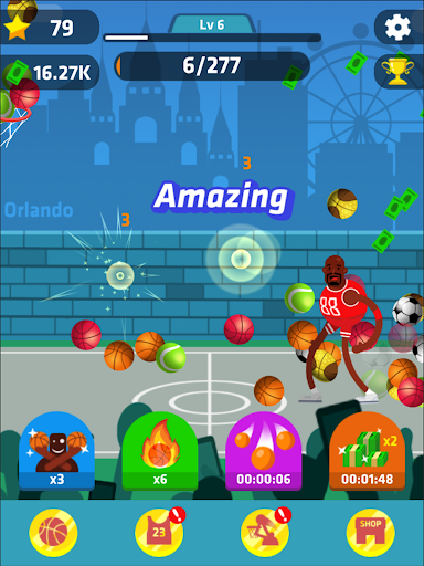 Idle Dunk Masters 1.1.1 gameplay | by HackJr.Pw 16
