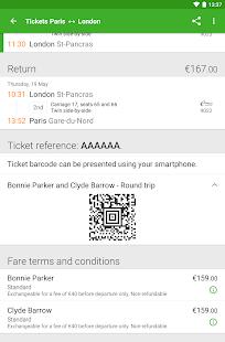 Captain Train: train tickets Screenshot 18