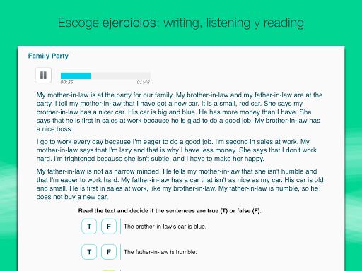 Aprender inglés con Wlingua screenshot 8