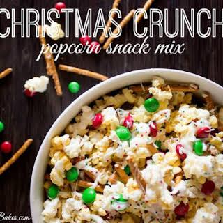 Christmas Crunch Popcorn Snack Mix.