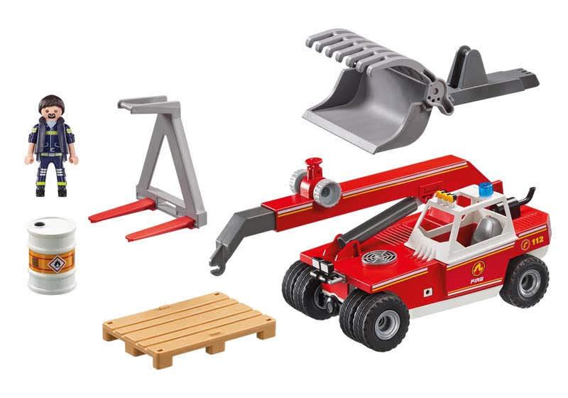 Contenido Real de Playmobil® 9465 Elevador