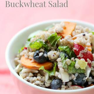 Rainbow Buckwheat Salad.