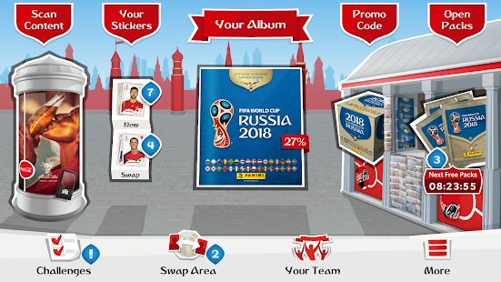 Panini Sticker Album- screenshot thumbnail