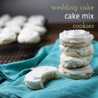 White Cake Mix Cookies Recipes.
