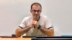 Antonio Serrano, miembro del Colegio Andaluz de Dietistas y Nutricionistas.