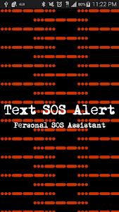 Text SOS Alert screenshot 0