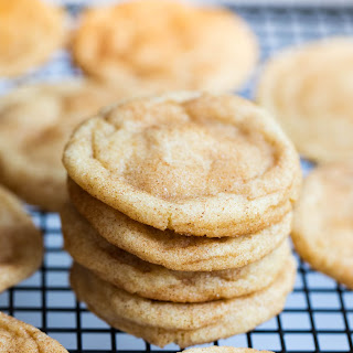 Super Soft Snickerdoodle Cookie.