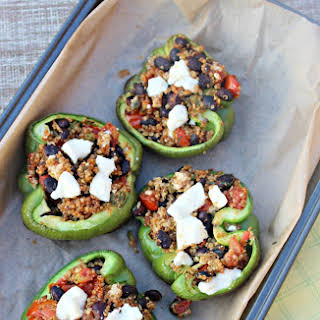 Healthy Vegetarian Stuffed Bell Peppers Recipes.