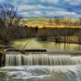 Day at the mill by Jim Dawson - Novices Only Landscapes ( #landscape, #midwaykentucky, #weisenbergermill, #nikonphotography, #kentucky )