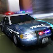 Police Flying Car 3D Simulator Android APK Download Free By 3MenStudio