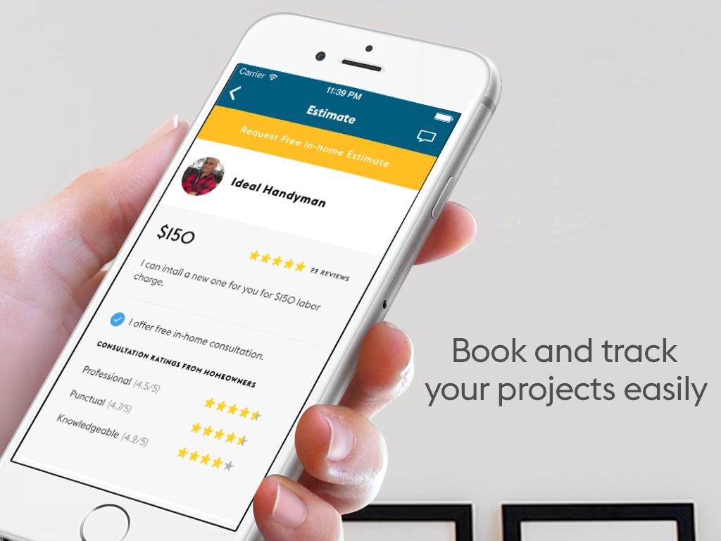 Free handyman price list - Trusted Handymen Home Repairs Screenshot