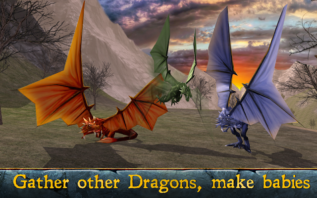 Magic Dragon Simulator 3D - screenshot