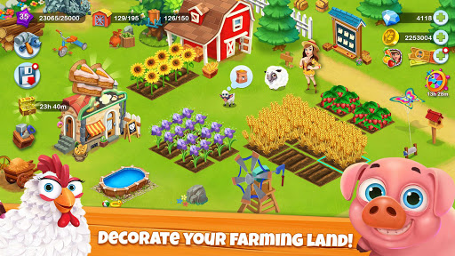 Village Farm Free Offline Farm Games  screenshots 1