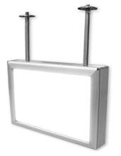 天井吊り式両面型LEDライトパネル