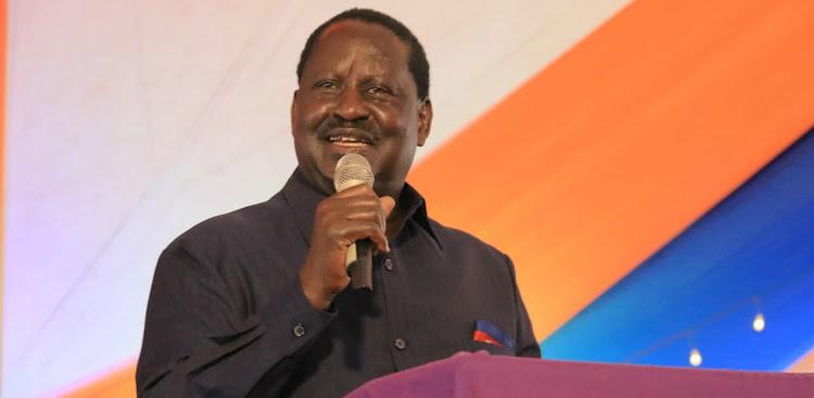 ODM leader Raila Odinga.