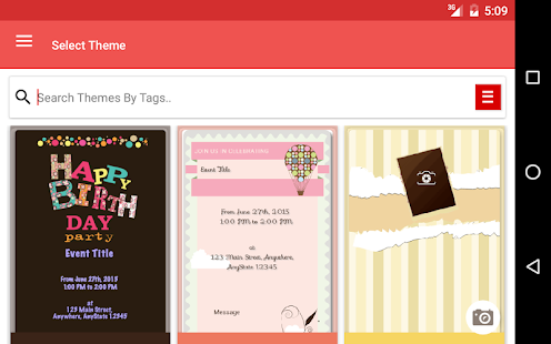 Twingle: Invitations & RSVP- screenshot thumbnail