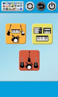 Band-Game-Piano-Guitar-Drum