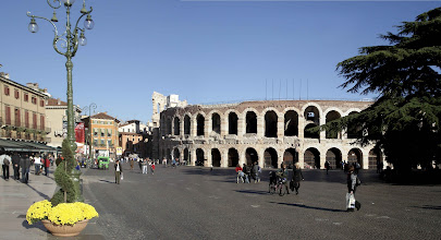 Photo: the Arena in Verona