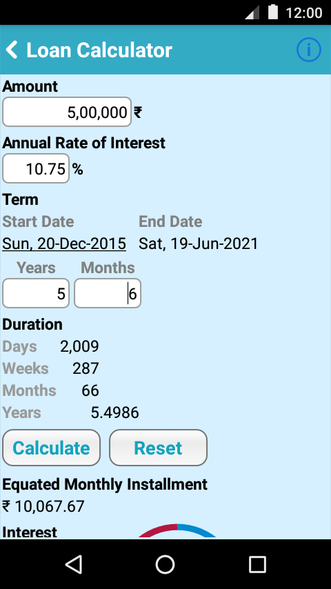 Calculator for SBI - Loan,FD - Android Apps on Google Play