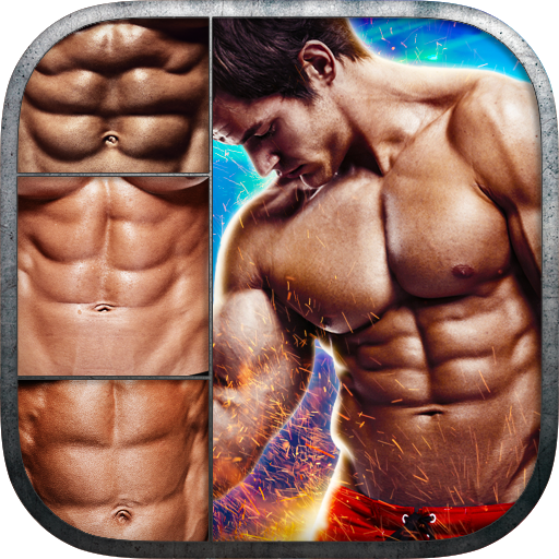 6 Pack Abs Photo Editor Icon