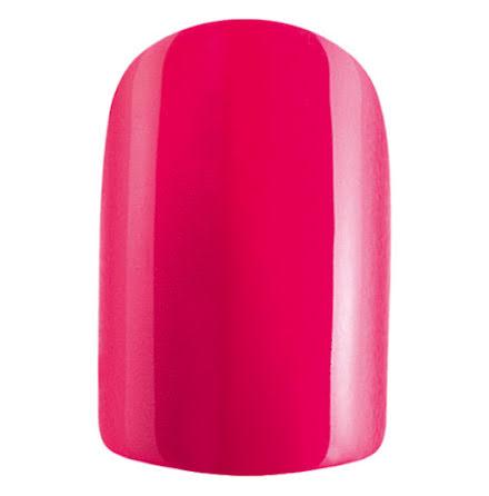 Set med 24 lösnaglar - pink