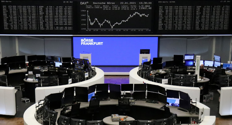 The German share price index DAX graph is pictured at the stock exchange in Frankfurt, Germany. File photo: REUTERS