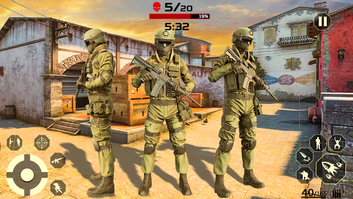 Fire Free Battle Royale: Cover Fire Special Force  screenshots 8