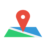 My Location : Maps, Directions & GPS Navigation Icon