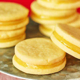 Lemon Curd Sandwich Cookies.