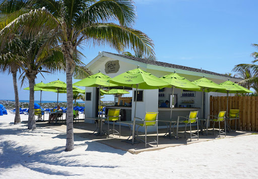 Head to the Patrón Beach bar to quaff a few at Great Stirrup Cay in the Bahamas.