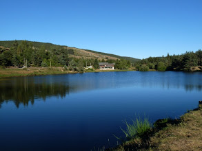 Photo: le lac du Devois