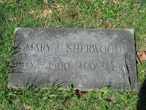Photo: Sherwood, Mary E.