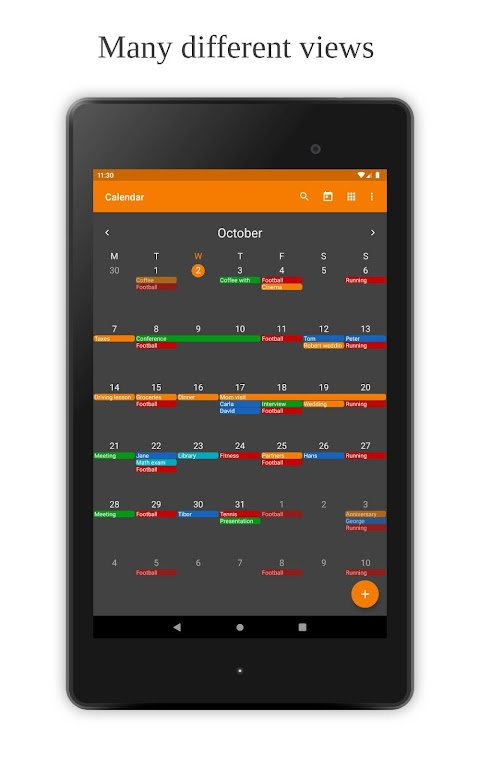Simple Calendar Pro - Events & Reminders Manager  poster 7