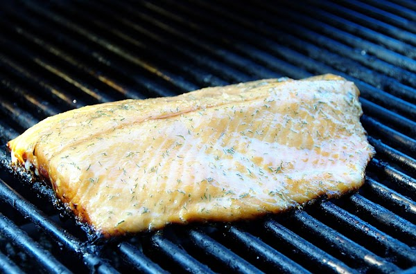 Honey Barbecued Salmon Or Trout Recipe