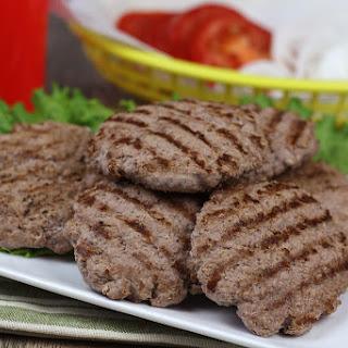 100-Calorie Beef Patties.