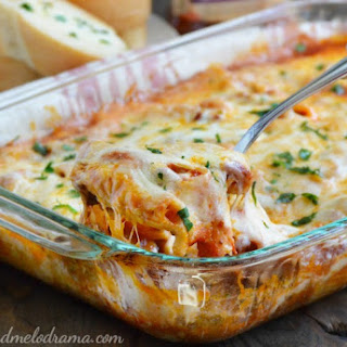 One Pan Rigatoni Sausage Bake