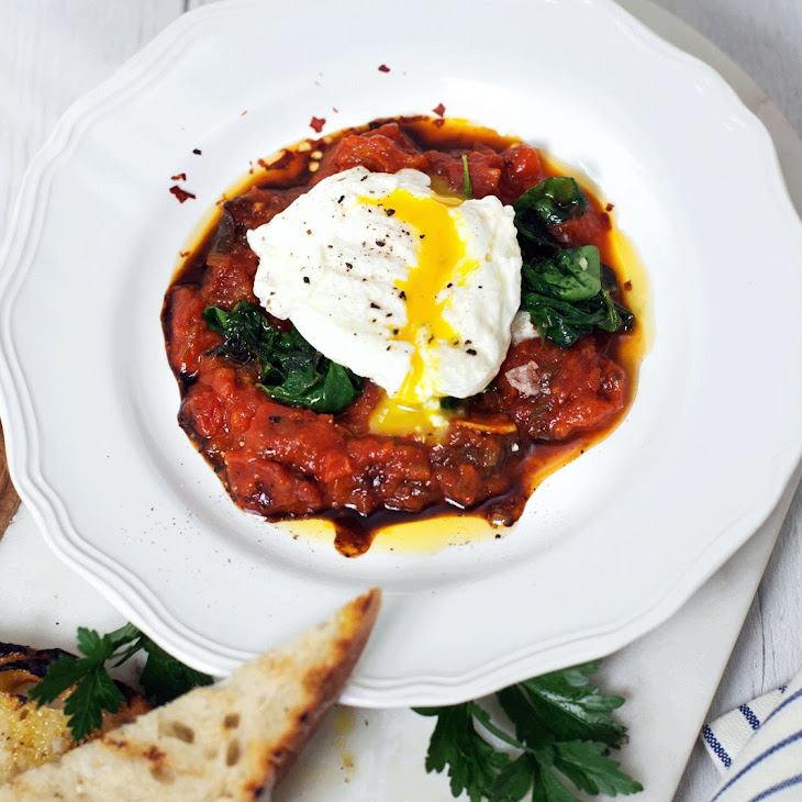 Baked Eggs in Tomato Sauce Recipe